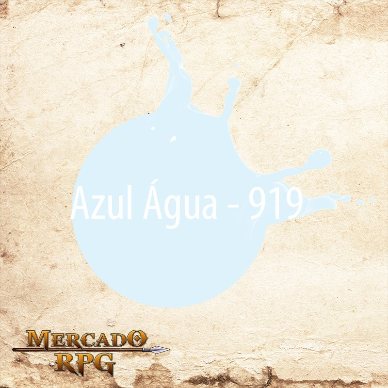 Azul Água - 919  - Mercado RPG