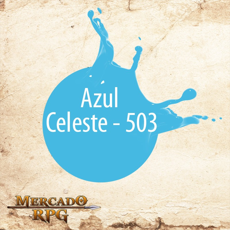 Azul Celeste - 503  - Mercado RPG