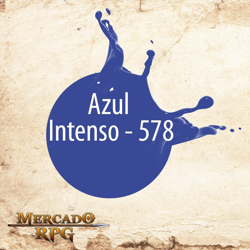 Azul Intenso - 578 - RPG - Mercado RPG