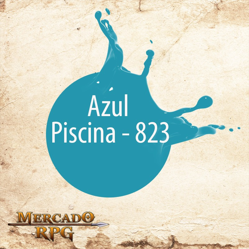 Azul Piscina - 823 - RPG