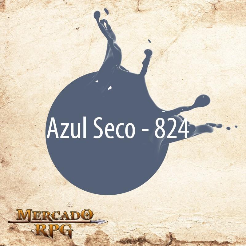 Azul Seco 824 - Tinta Acrílica Fosca Nature Colors 60ml - Acrilex - RPG
