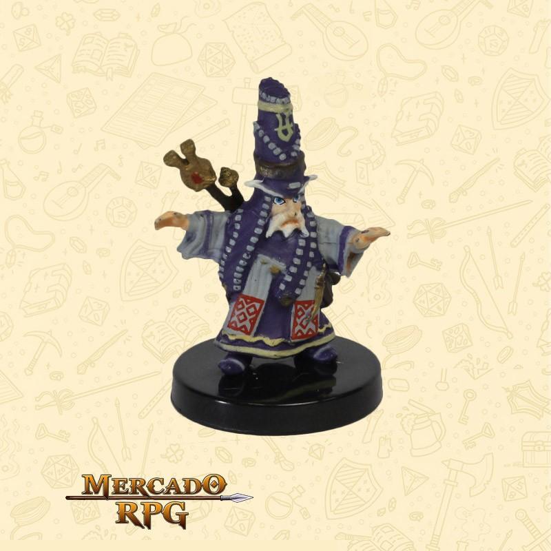 Balazar Gnome Summoner - Miniatura D&D - RPG