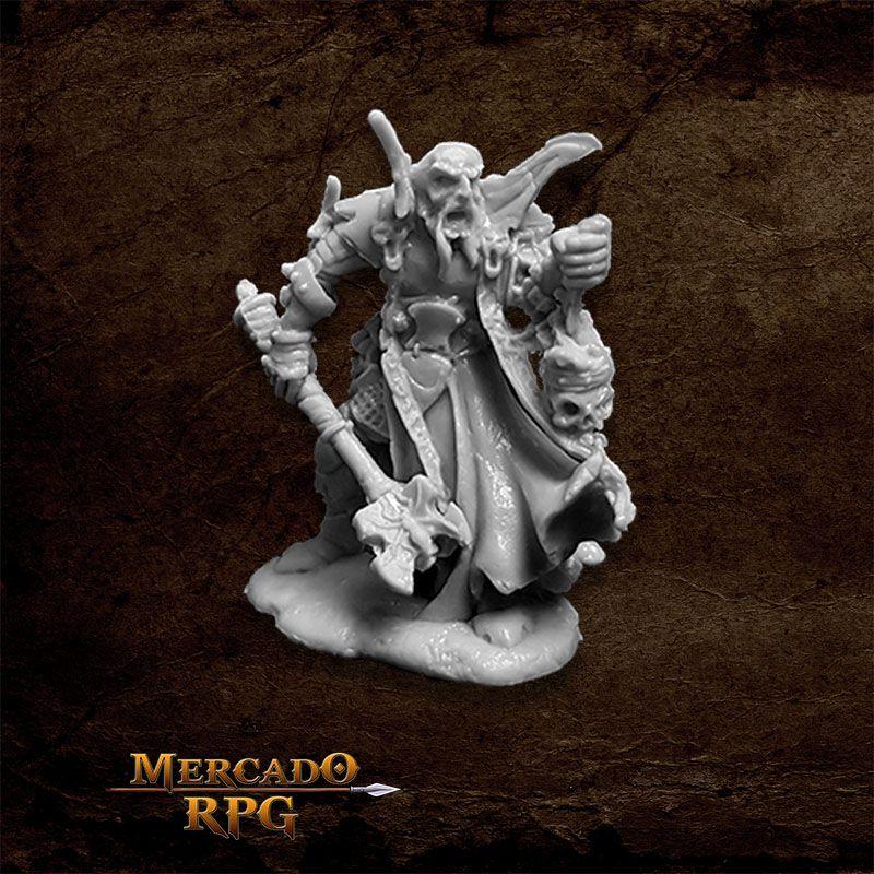 Balthon, Evil Cleric - Miniatura RPG
