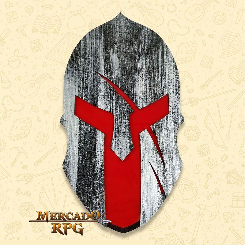 Bandeja de Dados Elmo Espartano - RPG  - Mercado RPG