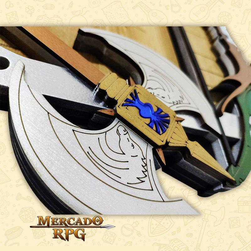 Bandeja de Dados Escudo com Armas - RPG  - Mercado RPG