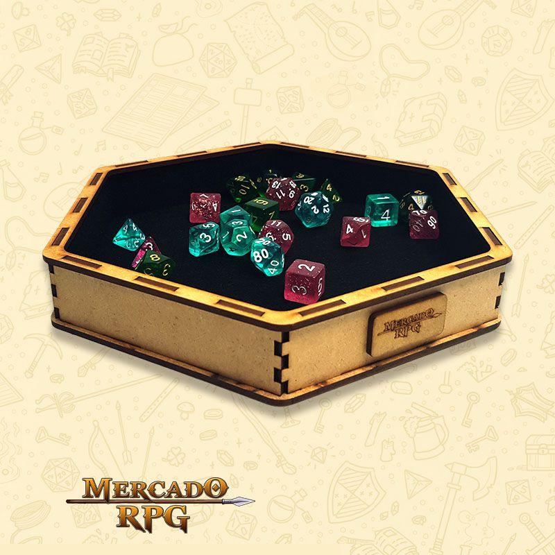 Bandeja de Dados Grande (D&D) - RPG  - Mercado RPG