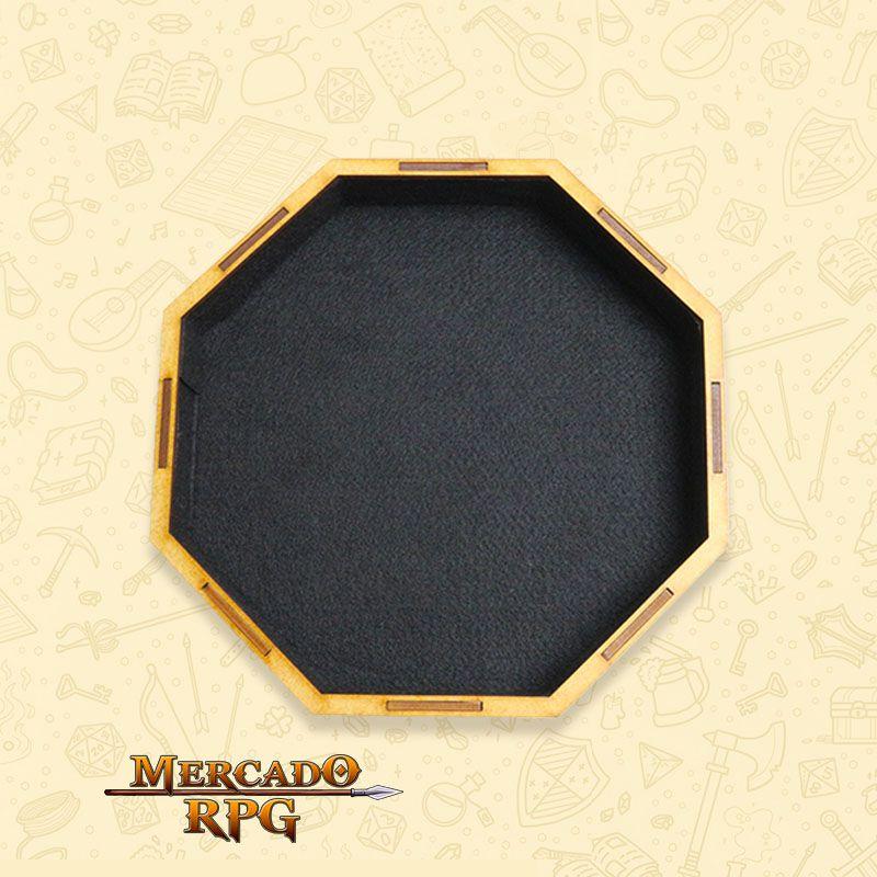 Bandeja de Dados Grande octogonal (Vampire) - RPG  - Mercado RPG