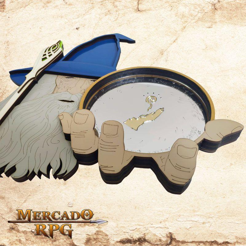Bandeja de Dados Mago Gandalf  - Mercado RPG