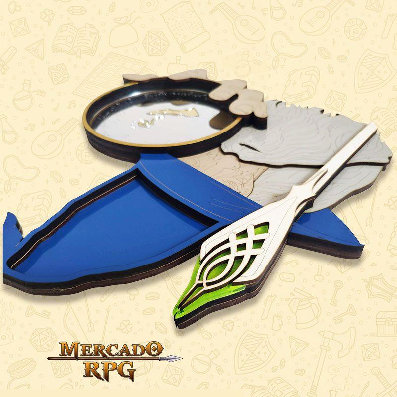 Bandeja de Dados Mago Gandalf - RPG  - Mercado RPG