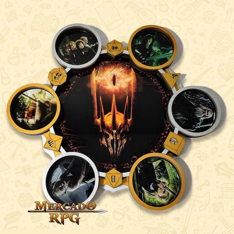 Bandeja de Dados Modelo Senhor dos Anéis - RPG