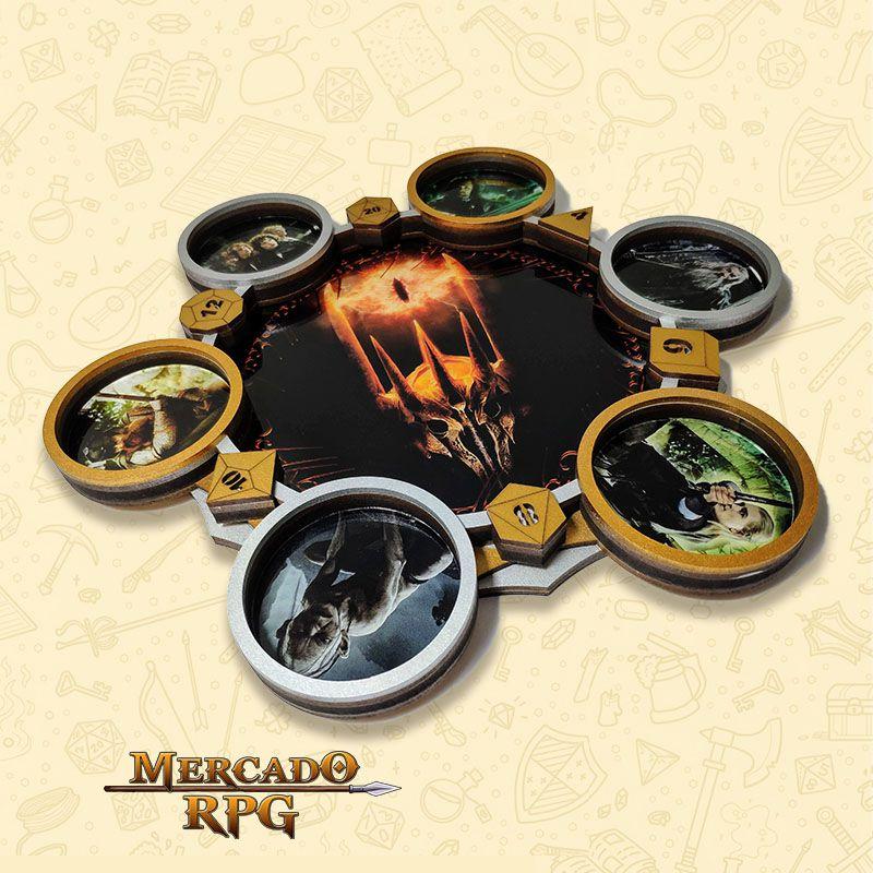 Bandeja de Dados Modelo Senhor dos Anéis - RPG  - Mercado RPG
