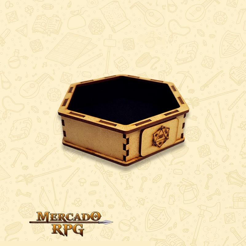 Bandeja de Dados Pequena (D20) - RPG