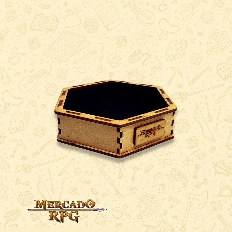 Bandeja de Dados Pequena (D&D) - RPG  - Mercado RPG