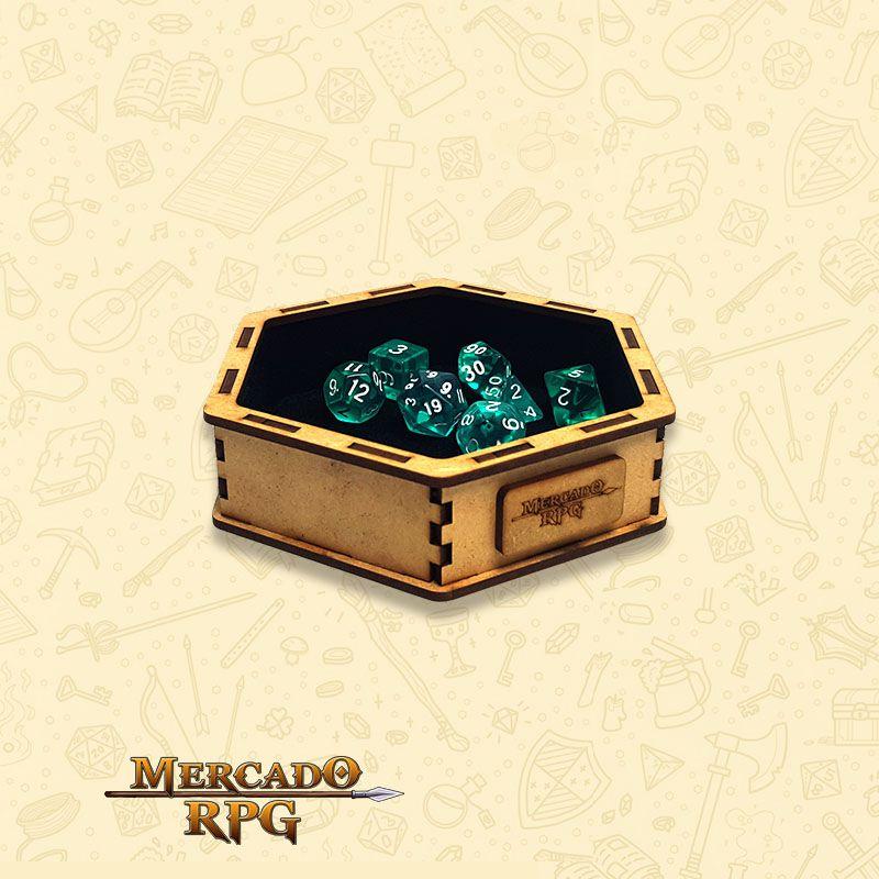 Bandeja de Dados Pequena (Vampire) - RPG  - Mercado RPG
