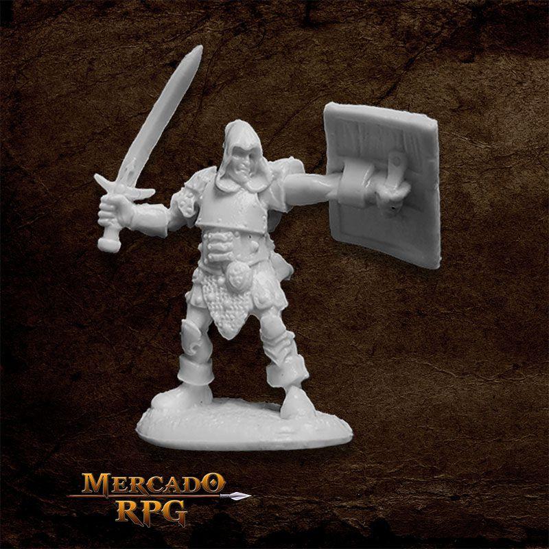 Bandit Leader - Miniatura RPG  - Mercado RPG