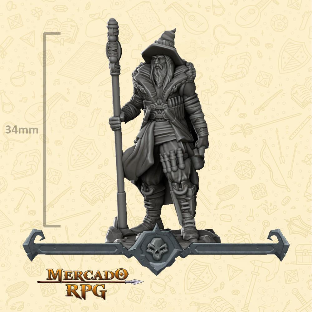 Bandit Mage - Miniatura - RPG