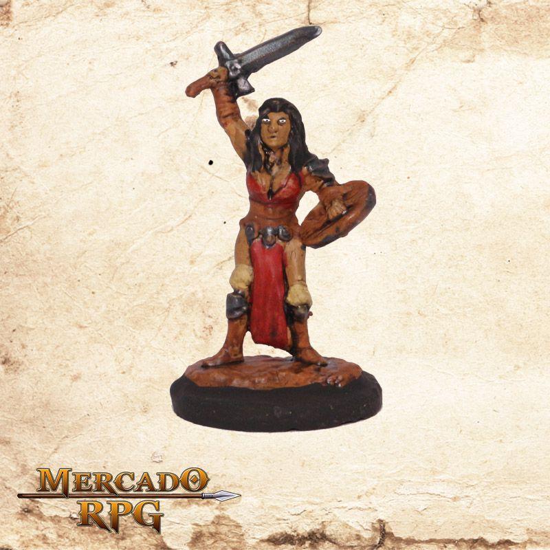 Bárbara Neirin - Miniatura RPG