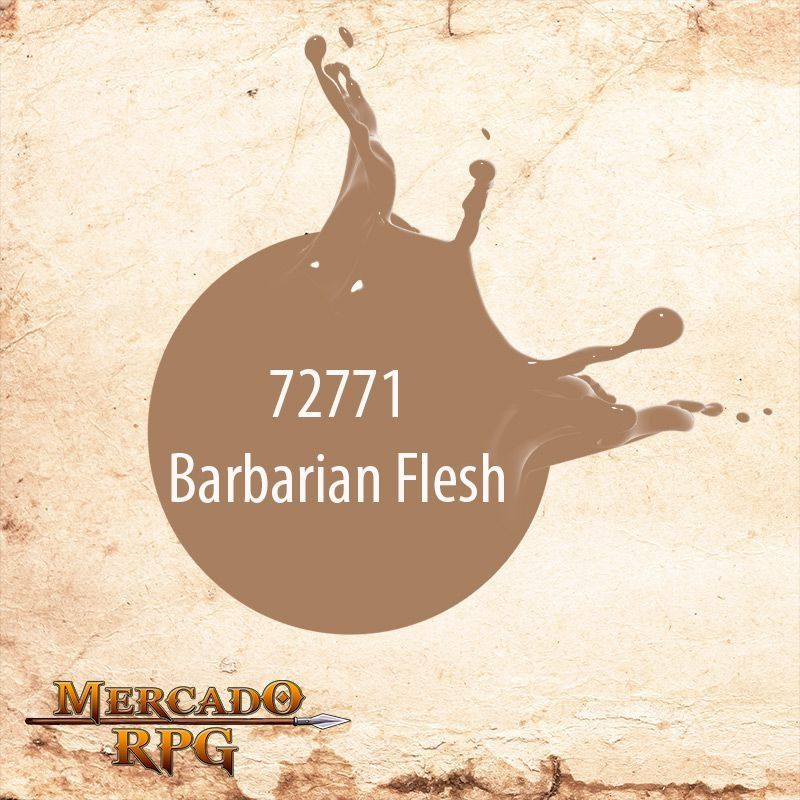 Barbarian Flesh 72.771  - Mercado RPG