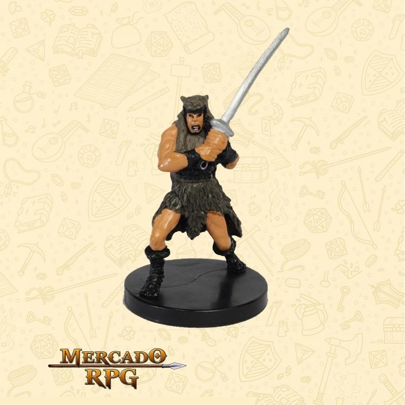 Barbarian Mercenary - Miniatura D&D - RPG