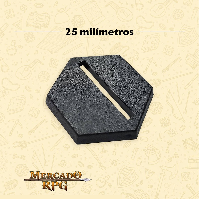 Base Hexagonal 25mm - RPG
