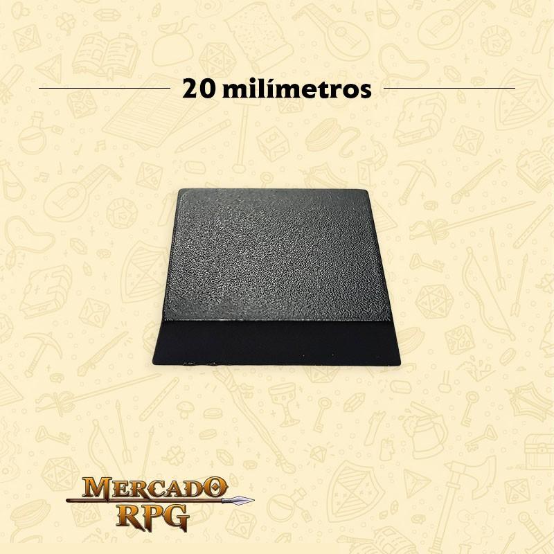 Base quadrada 20mm - RPG  - Mercado RPG