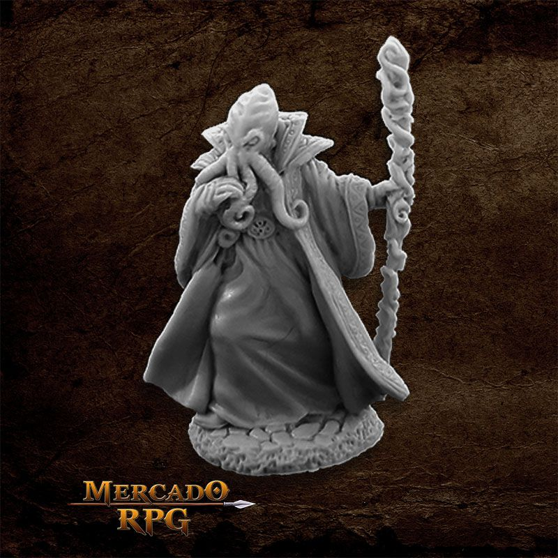 Bathalian Mind Flayer - Miniatura RPG  - Mercado RPG