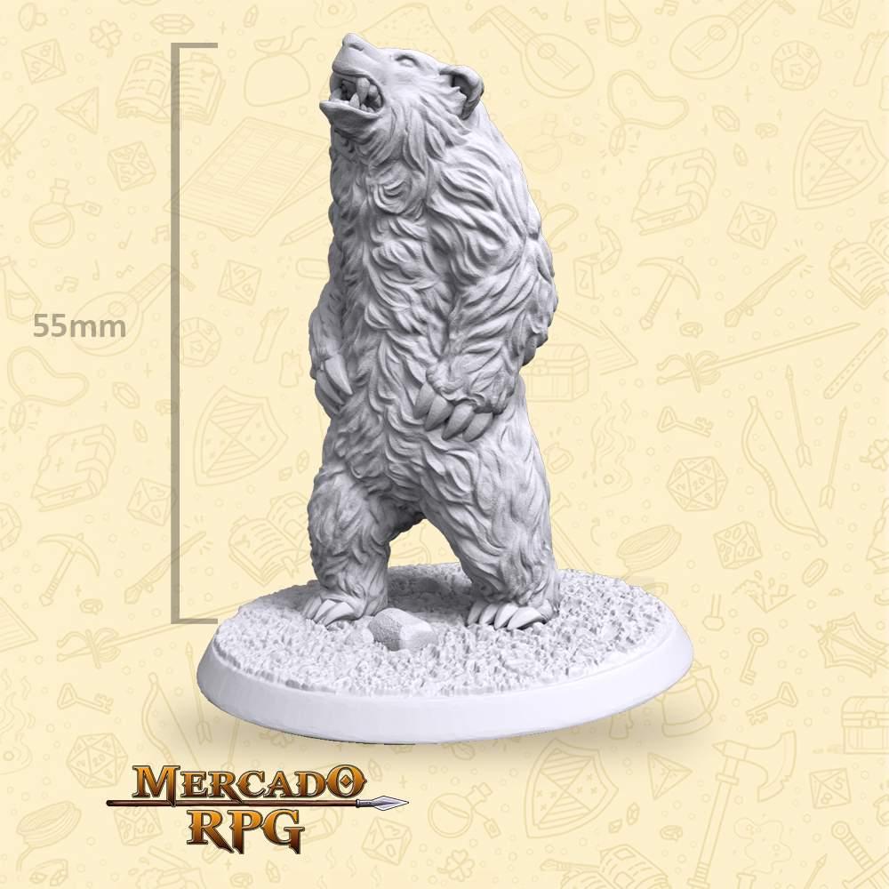 Bear - Miniatura - RPG