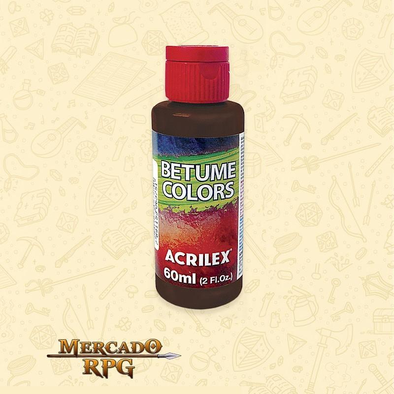 Betume Colors 60ml - Acrilex - RPG
