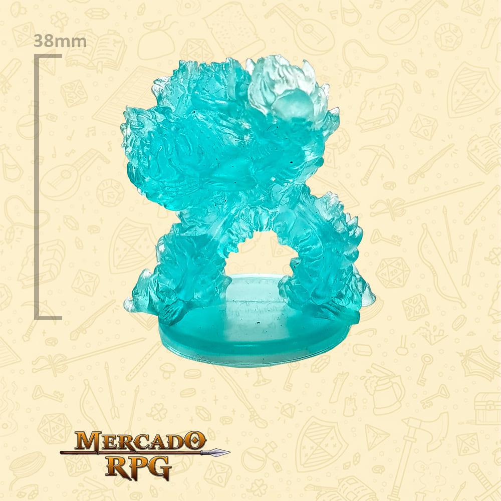 Blazing Skeleton - Miniatura D&D - RPG