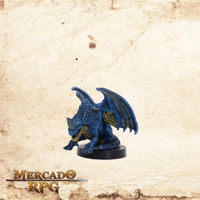 Blue Wyrmling - Com carta  - Mercado RPG
