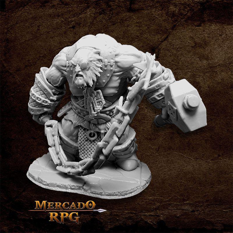 Bluferg, Fire Giant Jailor - Miniatura RPG  - Mercado RPG