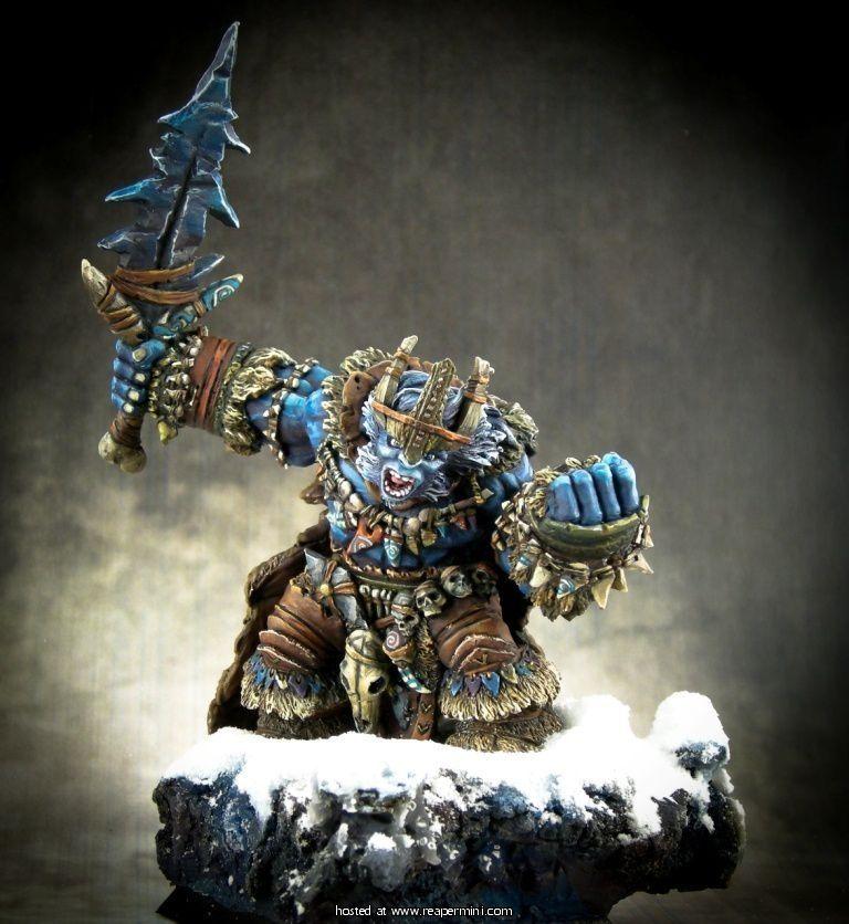 Boerogg Blackrime, Frost Giant Jarl  - Mercado RPG