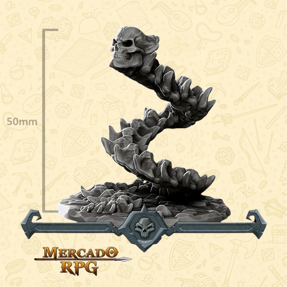Bone Naga Large - Miniatura - RPG