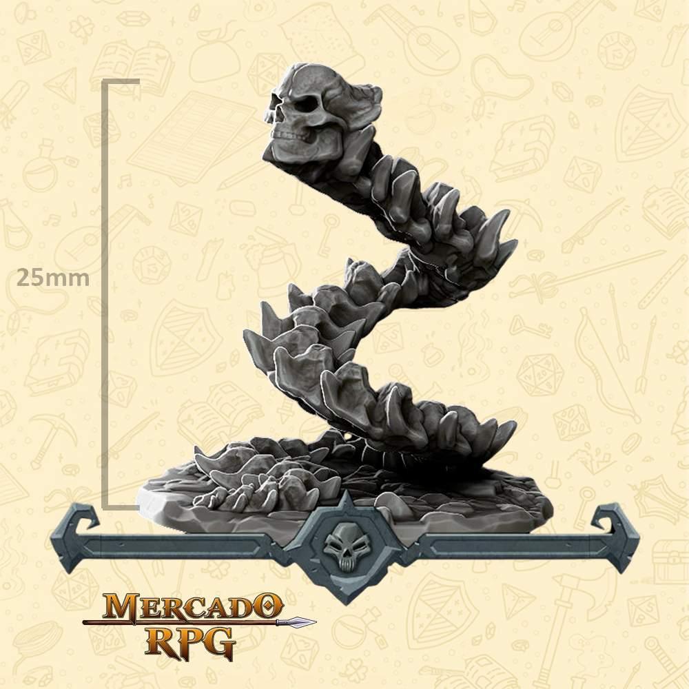 Bone Naga - Miniatura - RPG