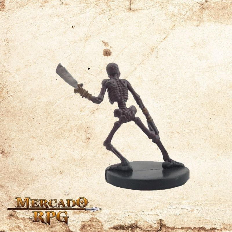Boneshard Skeleton - Com carta  - Mercado RPG