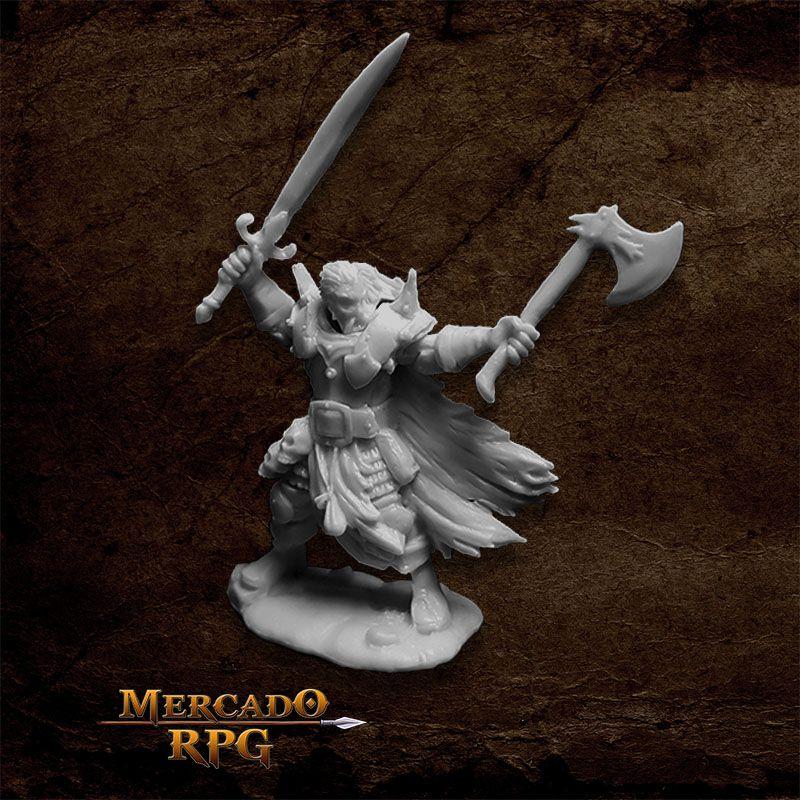 Boris Mingla, Evil Warlord - Miniatura RPG  - Mercado RPG