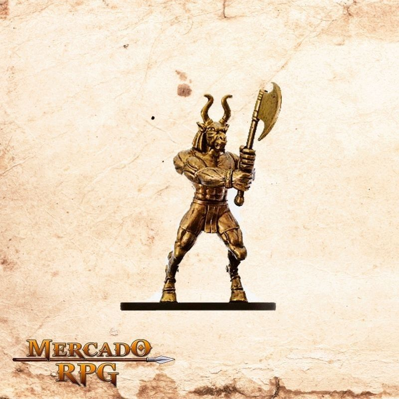 Brass Golem - Sem carta  - Mercado RPG