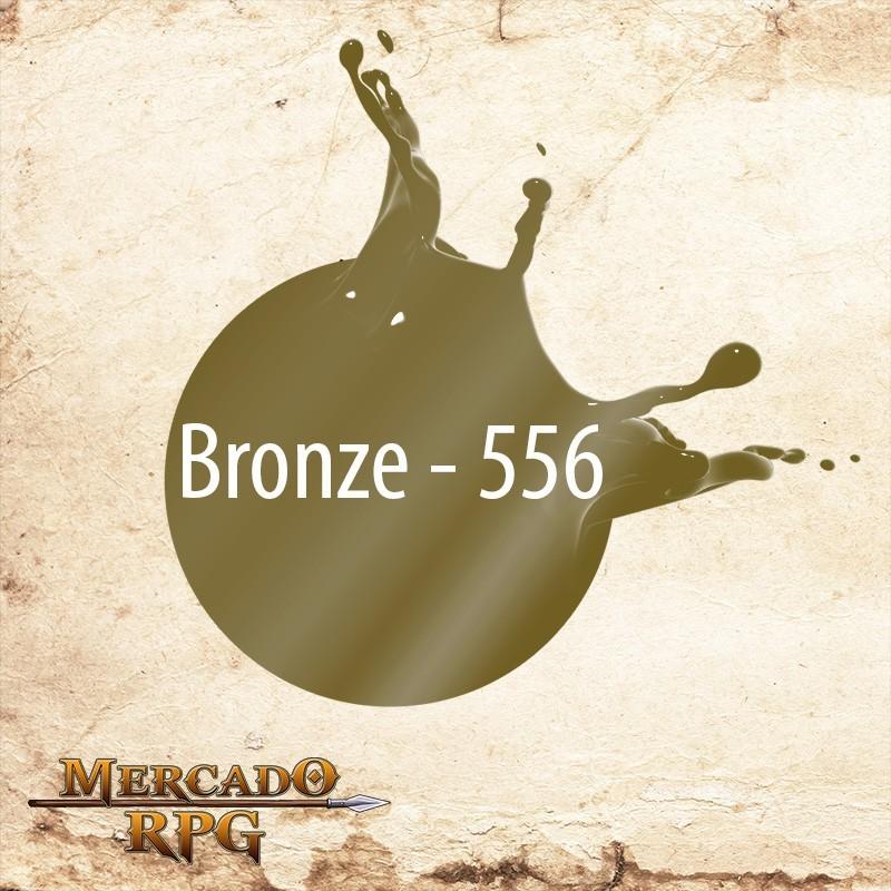 Bronze 556 - Tinta Metal Colors Acrílica Metálica 60ml Acrilex - RPG