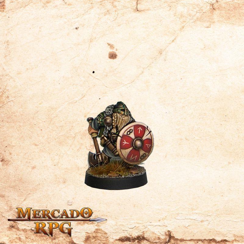 Brynjar bondi (5 Miniaturas)  - Mercado RPG