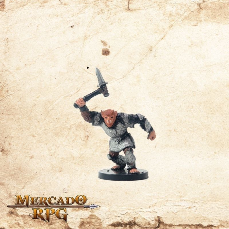 Bugbear Champion of Erythnul - Com Carta  - Mercado RPG