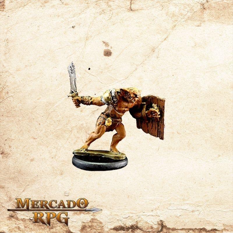 Bugbear - Espada e Escudo  - Mercado RPG