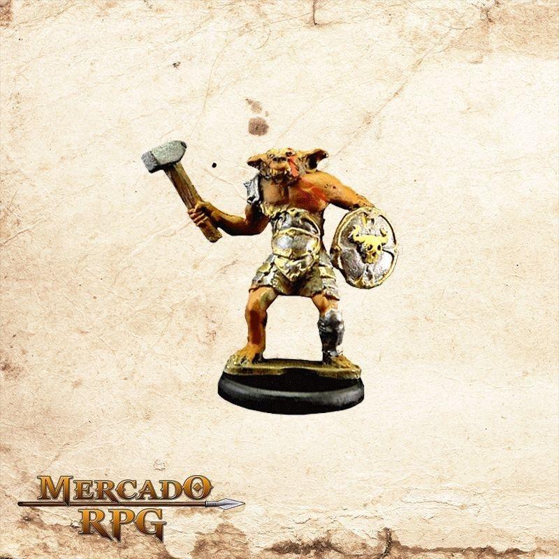 Bugbear - Martelo e Escudo  - Mercado RPG