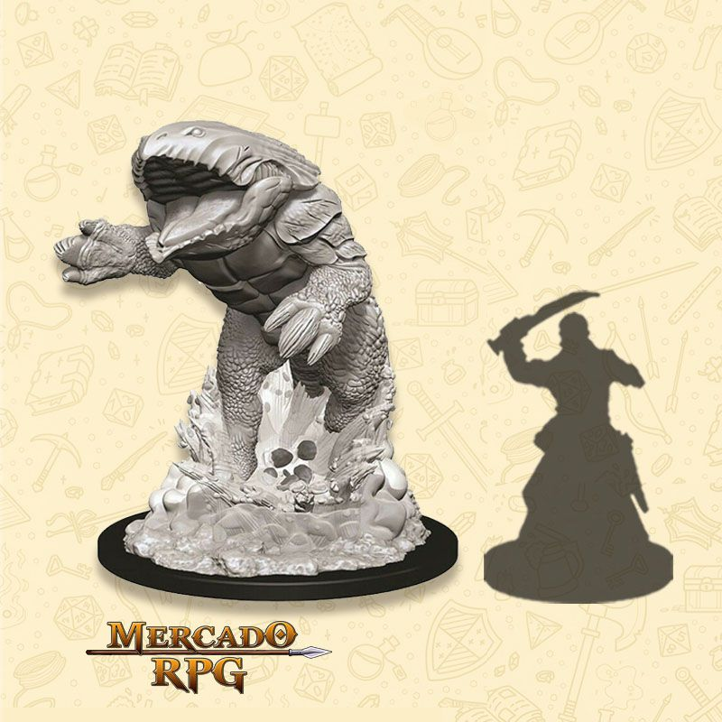 Bulette - Miniatura RPG  - Mercado RPG