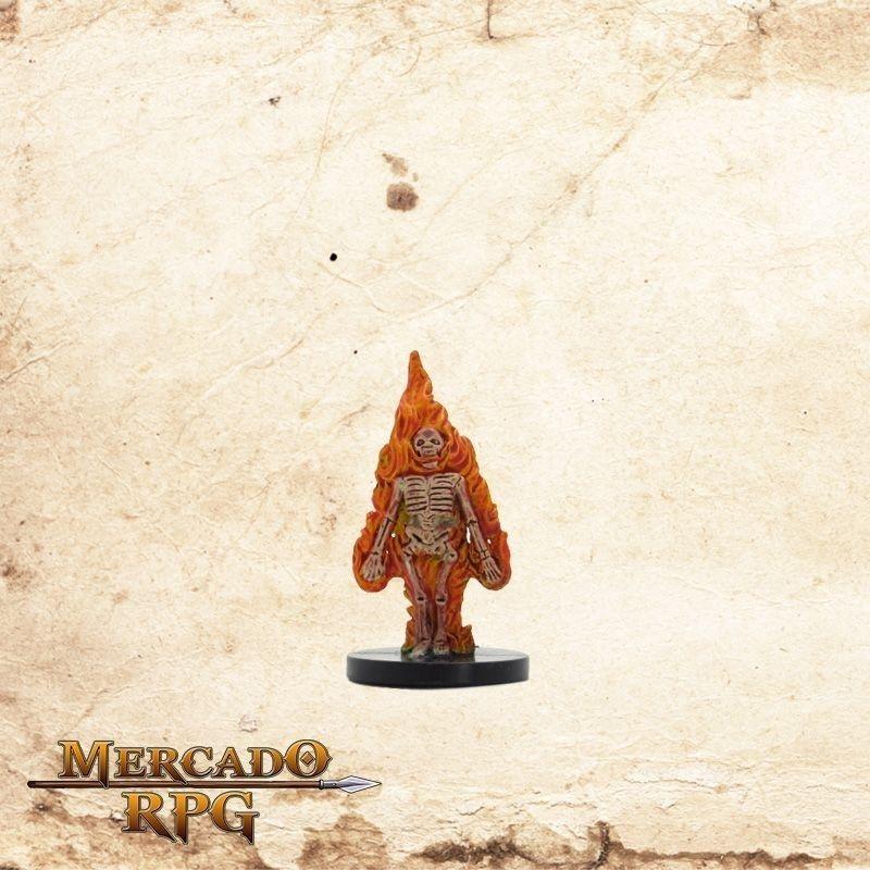 Burning Skeleton - Com carta  - Mercado RPG