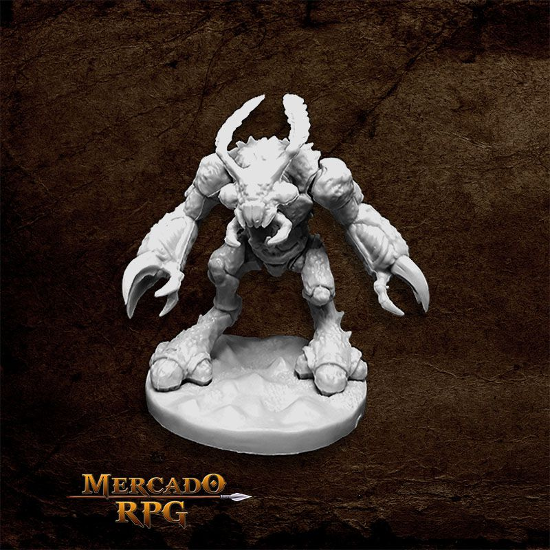 Burrowing Behemoth - Miniatura RPG  - Mercado RPG