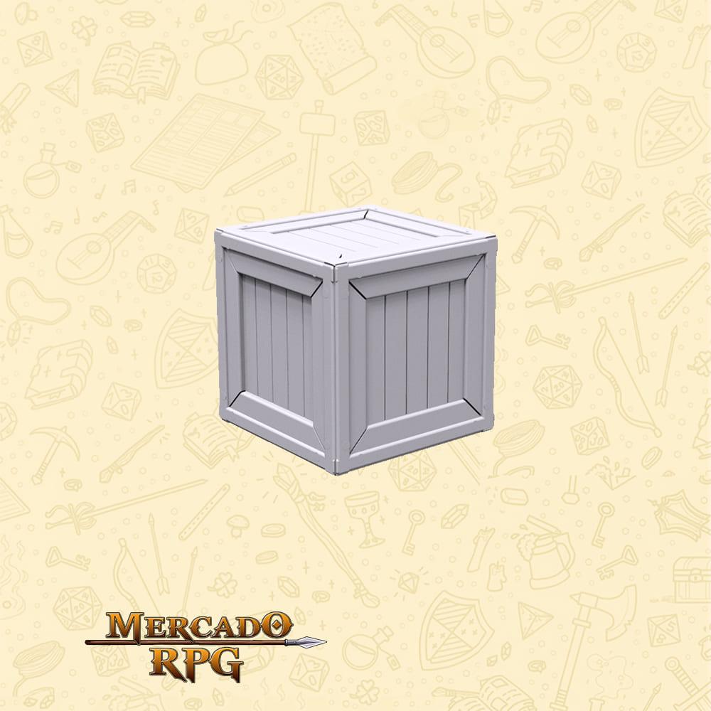 Caixa de Madeira - Miniaturas de cenários para RPG e Boardgames