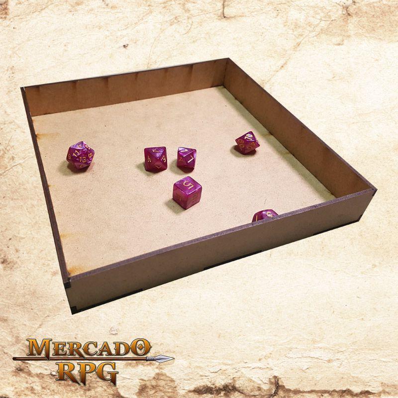 Caixa Grande para Grids (e também Bandeja de dados)  - Mercado RPG
