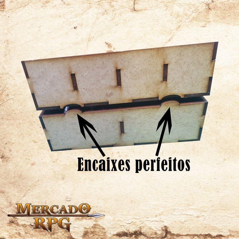 Caixa Organizadora Modular  - Mercado RPG