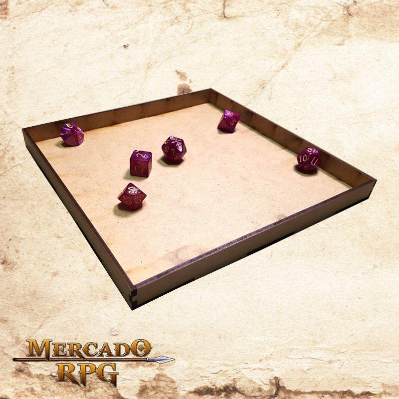 Caixa para Áreas de magias C e D ( e também Bandeja de dados) - RPG  - Mercado RPG