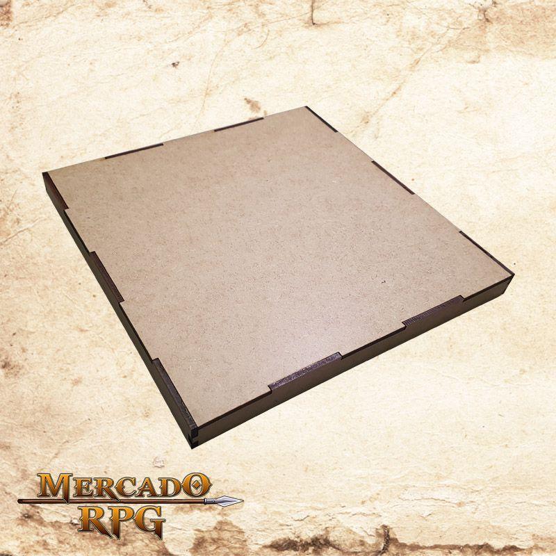 Caixa para Grids Riscáveis ( e também Bandeja de dados)  - Mercado RPG